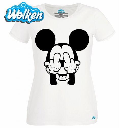 Obrázek produktu Dámské tričko Drsnej Mickey Mouse