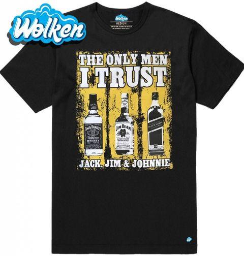 Obrázek produktu Pánské tričko Jediní komu věřím: Jack, Jim and Johnie