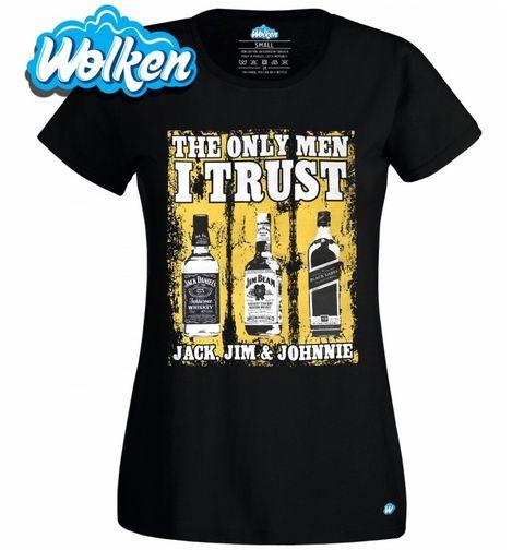 Obrázek produktu Dámské tričko Jediní komu věřím: Jack, Jim and Johnie