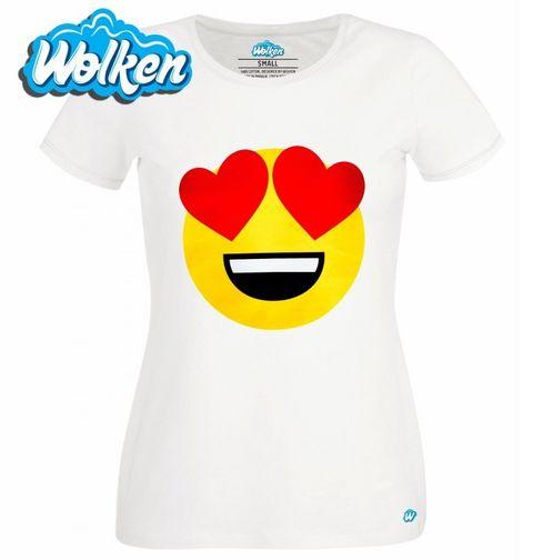 Obrázek produktu Dámské tričko Emoji Love