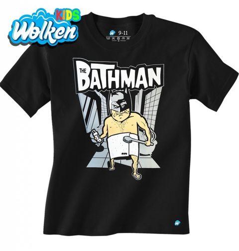 """Obrázek produktu Dětské tričko Koupelnový Batman """"Bathman"""""""