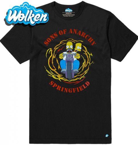 Obrázek produktu Pánské tričko  Simpsonovi Sons of Anarchy The Simpsons