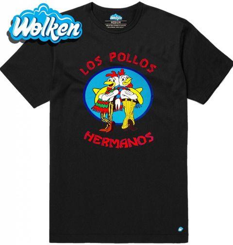 """Obrázek produktu Pánské tričko Breaking Bad """"Los Pollos Hermanos"""""""