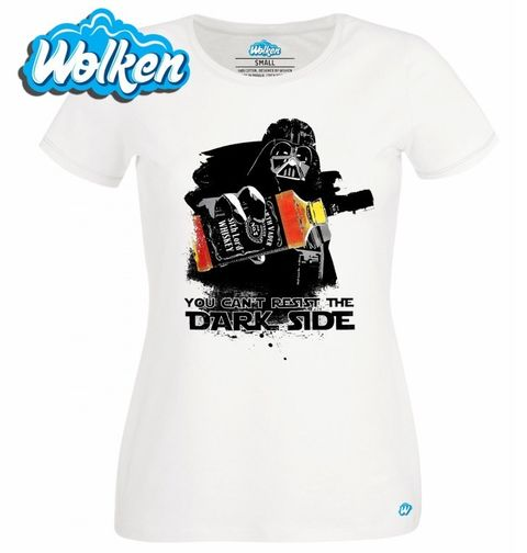 """Obrázek produktu Dámské tričko Star Wars """"Temné síle neodoláš"""""""