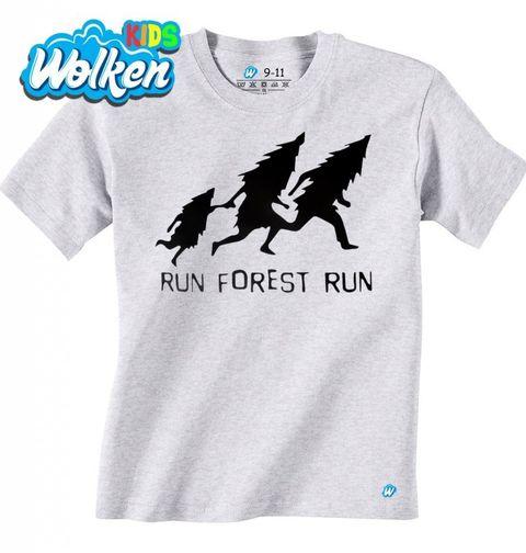 """Obrázek produktu Dětské tričko Run Forrest Run """"Běžící les"""""""