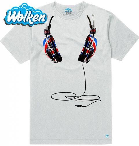Obrázek produktu Pánské tričko Sluchátka na tričku