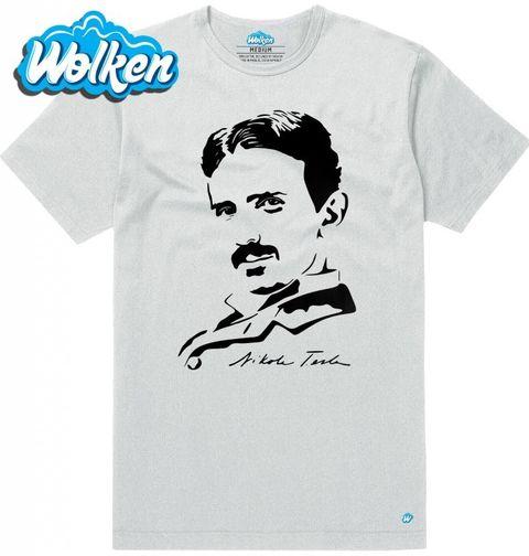 Obrázek produktu Pánské tričko Nikola Tesla