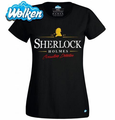Obrázek produktu Dámské tričko Detektiv Sherlock Holmes
