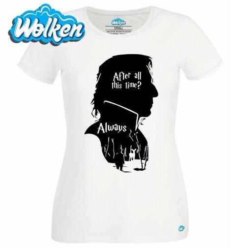 Obrázek produktu Dámské tričko Severus Snape Always Harry Potter
