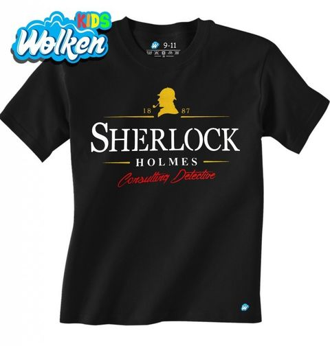 Obrázek produktu Dětské tričko Detektiv Sherlock Holmes