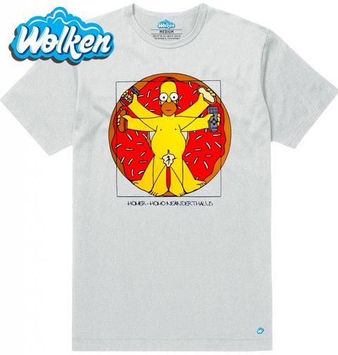Obrázek produktu Pánské tričko Vitruviánský Homer The Simpsons