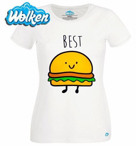 Obrázek produktu Dámské tričko 1/2 Best Friends - Best Burger