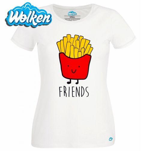 Obrázek produktu Dámské tričko 2/2 Best Friends - Friends Hranolky