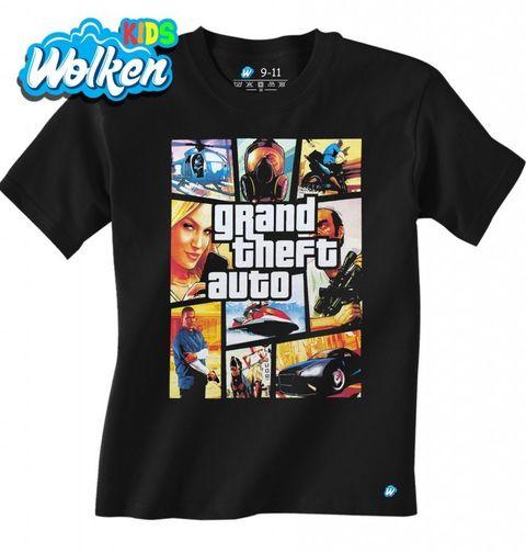 Obrázek produktu Dětské tričko Grand Theft Auto