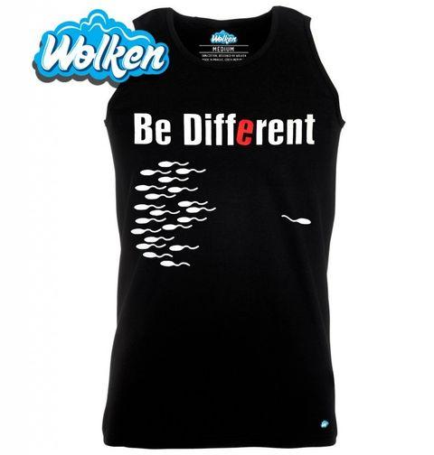 """Obrázek produktu Pánské tílko Buď jiný """"Be different"""""""
