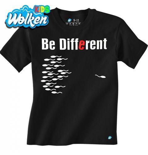 """Obrázek produktu Dětské tričko Buď jiný """"Be different"""""""
